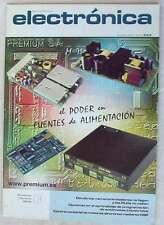 REVISTA ESPAÑOLA DE ELECTRÓNICA - Nº 553 DICIEMBRE 2000 - 80 PÁGINAS VER SUMARIO