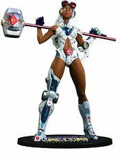 "DC Comics DC Direct Ame-Comi Heroine Series: Steel 8"" PVC Figure / New in Box"