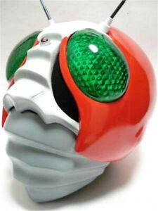 Kamen Rider V3 Cosplay Helmet Wearable LED Model Masked Rider Resin Headgear New