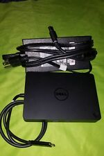 New listing Dell Dock Wd15 with 130 W Adapter, Usb Type-C, Dual Display w/ power adapter