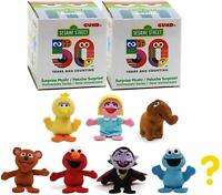 GUND SESAME STREET 2 x BLIND BOX RANDOM SERIES 2 PLUSH TOY 50TH ANNIVERSARY 8CM