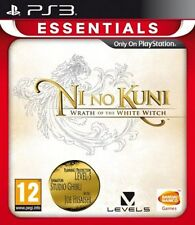 Ni No Kuni: Wrath Of The White Witch - Essentials (PS3) [New Game]