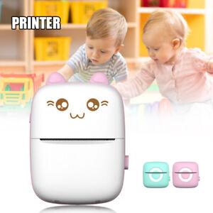 BT Phone Photo Printer Pocket Mini Bluetooth-Compatible Sticker Thermals Printer
