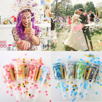 Decor Party Favors Wedding Supplies Push-Pop Confetti Round Shape Flower Paper
