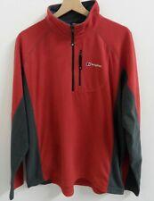 Mens Berghaus 1/4 Zip Fleece Oth Top Jumper Size Small Original : Ls671