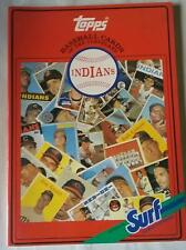 Topps Baseball Card Book - Cleveland Surf Detergent Mlb 1987 Chewing Gum