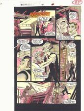 Spider-Man Unlimited #10 p.25 Color Guide Art - Textile Factory - by John Kalisz