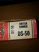 NOS Standard DS-50 DIMMER SWITCH