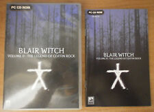 BLAIR WITCH VOLUME 2 II THE LEGEND OF COFFIN ROCK - PC CD ROM *BOX +MANUAL ONLY*