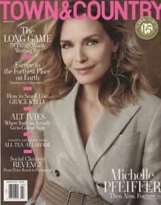 Town & Country Magazine March 2021 Michelle Pfeiffer