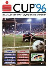 20./21.01.1996 DFB-pasillos-masters munich-ifk gotemburgo, dinamo dresde,...