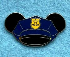 Mickey Mouse Police Ears Hat Disney Fantasy Pin