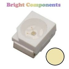 10 x Warm White PLCC-2 LED (SMD SMT) - Ultra Bright - UK - 1st CLASS POST