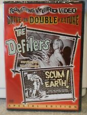 The Defilers / Scum of the Earth (DVD, 2001) RARE SET BRAND NEW