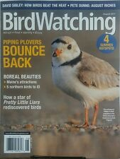 Bird Watching Aug 2017 Piping Plovers Bounce Back Attract Find FREE SHIPPING sb