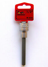 Teng Werkzeugen m122508-c 8mm 1.3cm cm Drehfassung lang Sechskant S2 Buchse Bit