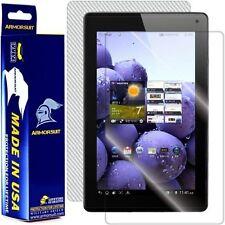 ArmorSuit MilitaryShield LG Optimus Pad LTE Screen Protector + White Carbon Skin