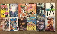 (Lot Of 12) Various Comic Books Princeless:Raven, Xena, The Retaliator, X-Farce