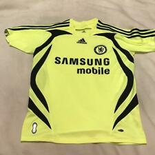 Chelsea FC Samsung Mobile Neon Adidas Clima Cool Soccer Jersey Youth Large