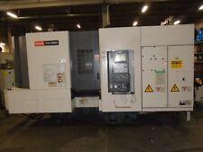 2000 Mazak HMC FH5800 CNC Mill Fuzion 640 Control,Probing,Spiarl,Helical,Thread