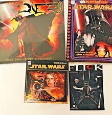Star Wars Darth Vader Collectors Lot #1 Puzzle Calendar Coloring Book Episode 3