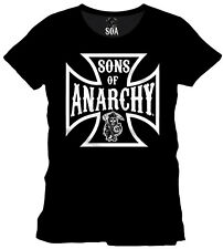 SONS OF ANARCHY - Anarchy Cross - T-Shirt - Größe Size L - NEU