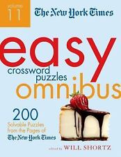 The New York Times Easy Crossword Puzzle Omnibus Volume 11: 200 Solvable Puzzles