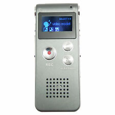 Mini Dictaphone 8gb Voice Activated Spy Digital Sound Audio Recorder Mp3 Player
