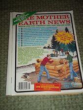 "Vtg. Back Issue ""The Mother Earth News"" Magazine, No. 78, Nov./Dec.. 1982"