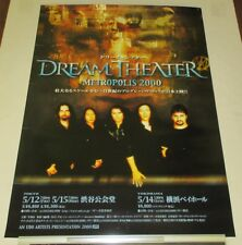 DREAM THEATER rare JAPAN PROMO ONLY 2000 tour POSTER more DT posters listed!