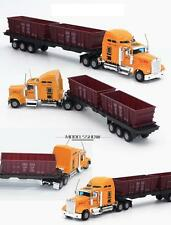1/50 kenworth W900? truck coal trailer diecast/plastic (various colors)