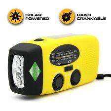 Emergency Radio & NOAA Weather Radio | 1000mAh Hand Crank Radio & Battery Power