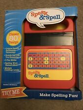New SPEAK & SPELL Electronic Game (Classic 1978/1980 Design) E.T. Handheld Toy