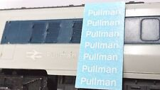 TRIANG HORNBY PULLMAN X7 LOWER CASE OO GAUGE TRAIN COACH TRANSFERS DECAL SPARES