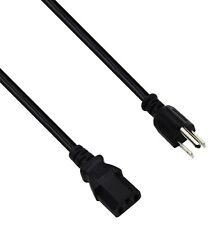"""AC Power Cord Cable Plug For Coby TFTV1923 19"""" LCD HD TV"""