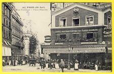 cpa Rare 75 - PARIS CAFÉ RESTAURANT de la Place BLANCHE et Rue Pierre FONTAINE