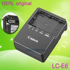Genuine Original Canon LC-E6 LC-E6E Charger for LP-E6 Battery EOS 5D Mark II 70D