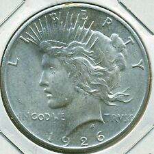 1926-P PEACE DOLLAR, CHOICE BRILLIANT UNCIRCULATED, GREAT PRICE!