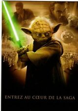 Star Wars Dossier de presse/press kit sortie épisode 2 en dvd 2002