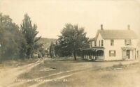 C-1910 Front Street Port Kent New York RPPC Photo Postcard 633