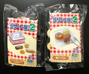 Re-ment Desert cafe 2 Cake Bakery Pastry JP bread dollhouse miniature Megahouse