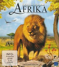 Faszination Afrika - Tier und Natur Dokumentation - Blu-ray - Elefant Zebra Löwe