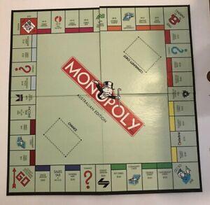 Monopoly Australian Edition Gameboard