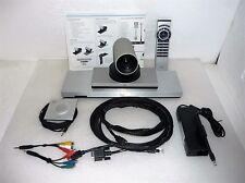 Cisco C20 Teleconference Quick Set w/ TTC7-18 Codec 4X Camera Mic Remote TESTED