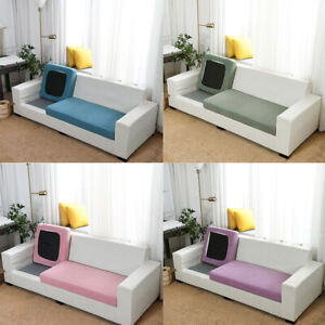 1/2/3/4 Seats Couch Cover Elastic Stretch Sofa Seat Covers Slipcover Protector