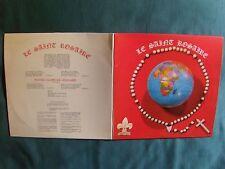 LE SAINT ROSAIRE (ORAISONS, public, orgue) 2 LP gatefold MONDE MELODY MM 3387