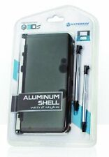 3DS Aluminum Shell with 2 Stylus Grey CARRY CASE PROTECTION M05760GR