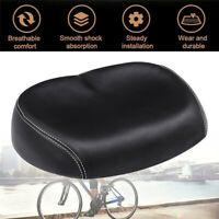 Big Ass Bike Bicycle Cycling Noseless Saddle Wide Large Soft PVC PU Pad Seat JNH