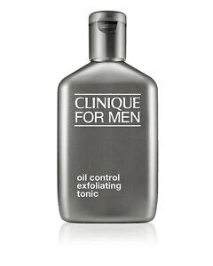 CLINIQUE For Men Oil Control Exfoliating Tonic Lotion 6.7oz/200ml BRAND NEW