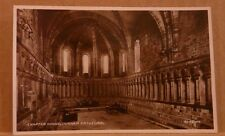 Unposted Postcard Durham Cathedral, Chapter house Real photograph
